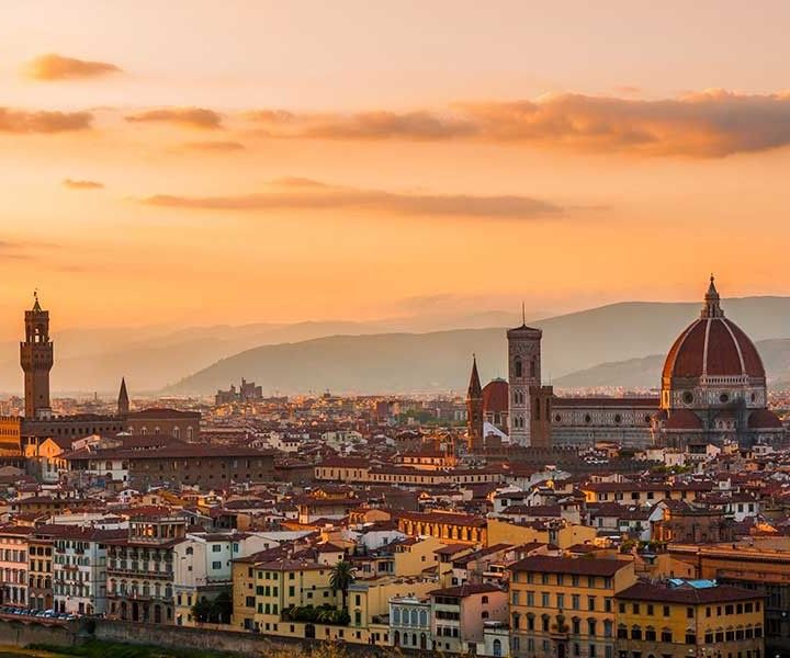 Pathways of Tuscany from Florence to Siena Italy Explore Firenze